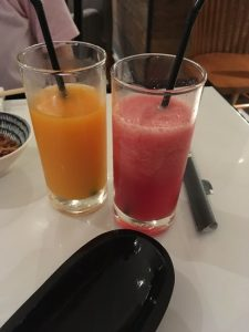 Fresh juice of this restaurant is very delicious.