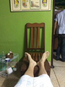 I came to foot sole massage of soi 36.