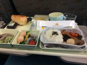 Catering from Japan is delicious in-flight meal.