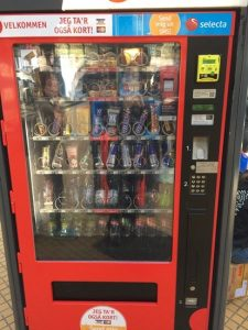 It is a vending machine in the European station and in the airport.