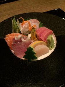 raw tuna.